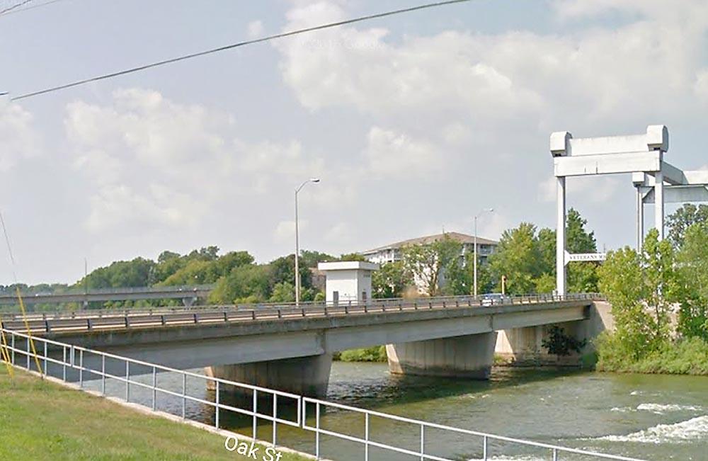 Island Street bridge, Kaukauna, Wisconsin