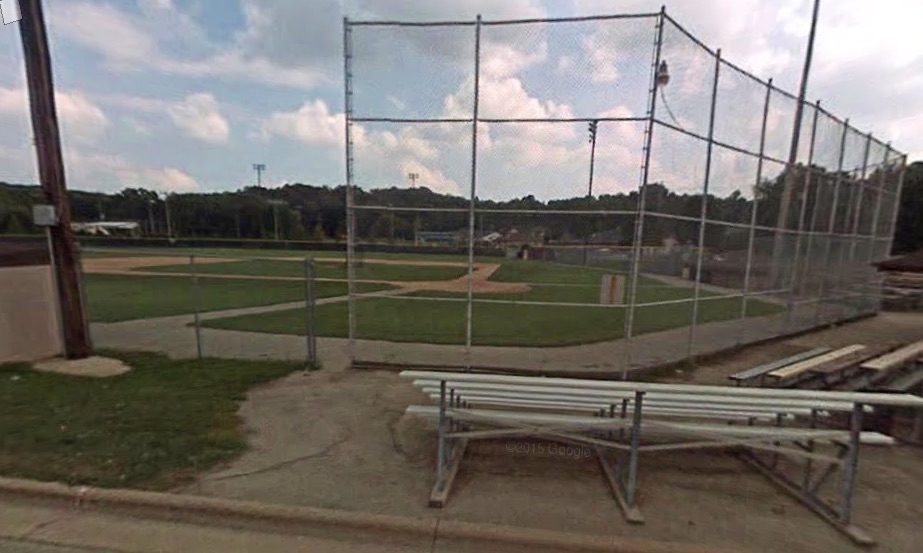 Bayorgeon Baseball Field, Kaukauna, Wisconsin.