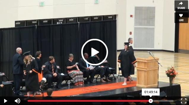 Scroll to bottom for video. Kaukauna High School graduation, June 2, 2016.