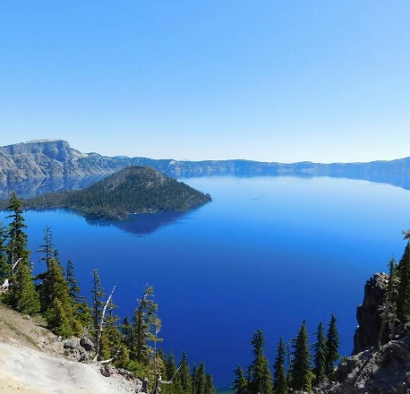 Crater Lake National Park, Oregon. Photo by Conner Gegare via Instagram