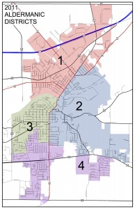 On Nov. 8, 2016, Districts 1 and 2 vote at River View Middle School, 101 Oak Street, Kaukauna, and Districts 3 and 4 vote in the new Municipal Services Building, 144 W. Second Street, Kaukauna.