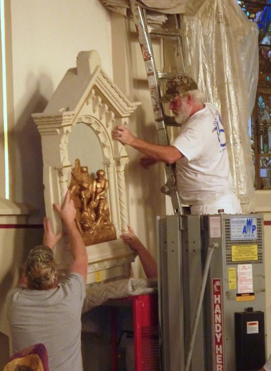 Holy Cross renovations