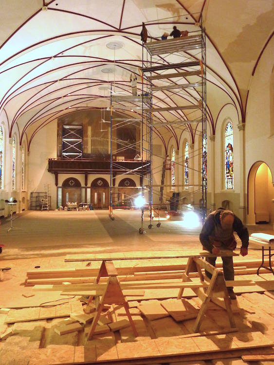 Holy Cross renovations