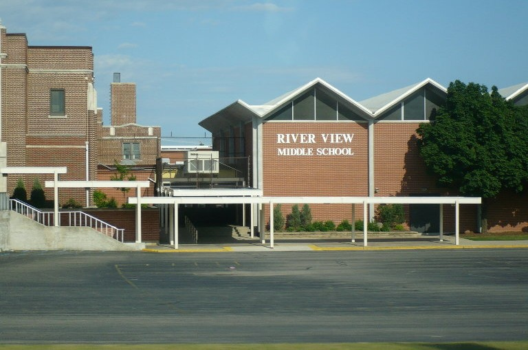 River View Middle School in Kaukauna, Wisconsi