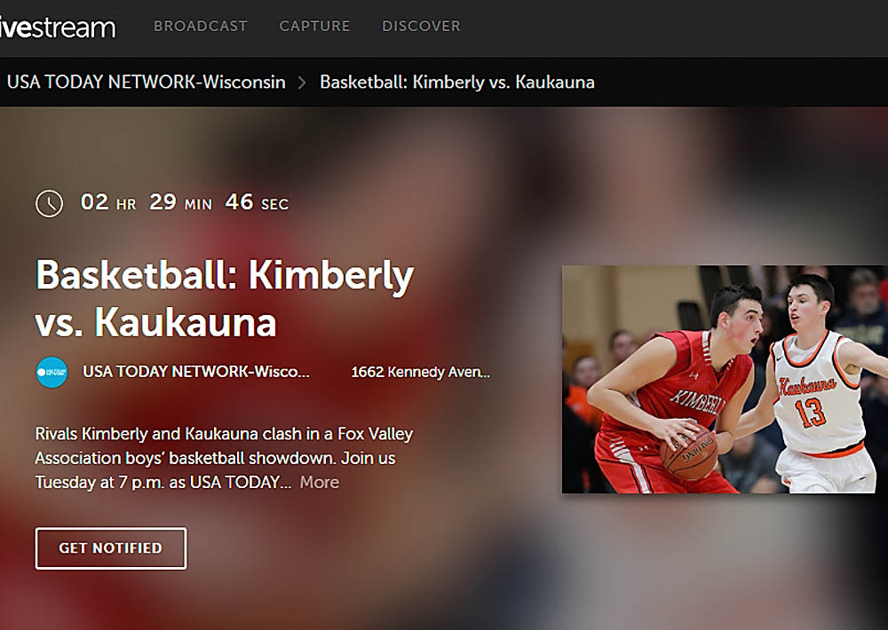 Kaukauna - Kimberly basketball