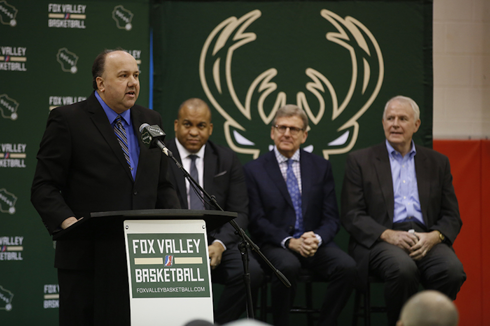 Fox Valley Pro Basketball led by Greg Pierce will be constructing a new 3,500-seat arena for the new minor league team.