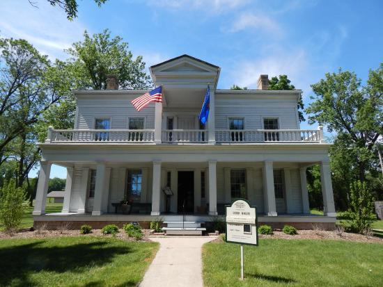 Charles A. Grignon mansion, Kaukauna.