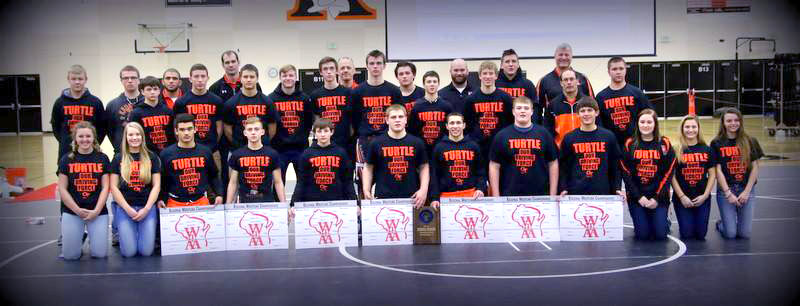 Kaukauna's 2017 regional wrestling champions. Paul Stumpf photo