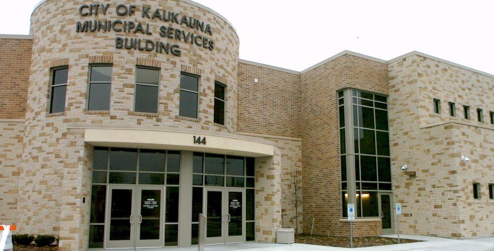 Kaukauna Municipal Services Building. KCN photo.
