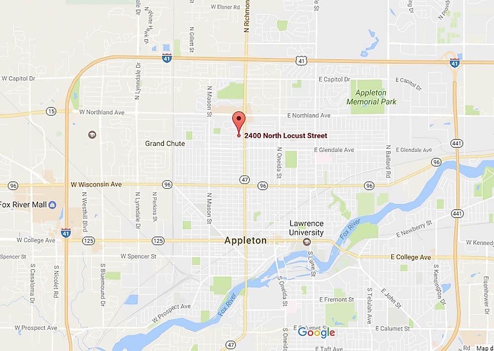 2400 block of N. Locust St., Appleton