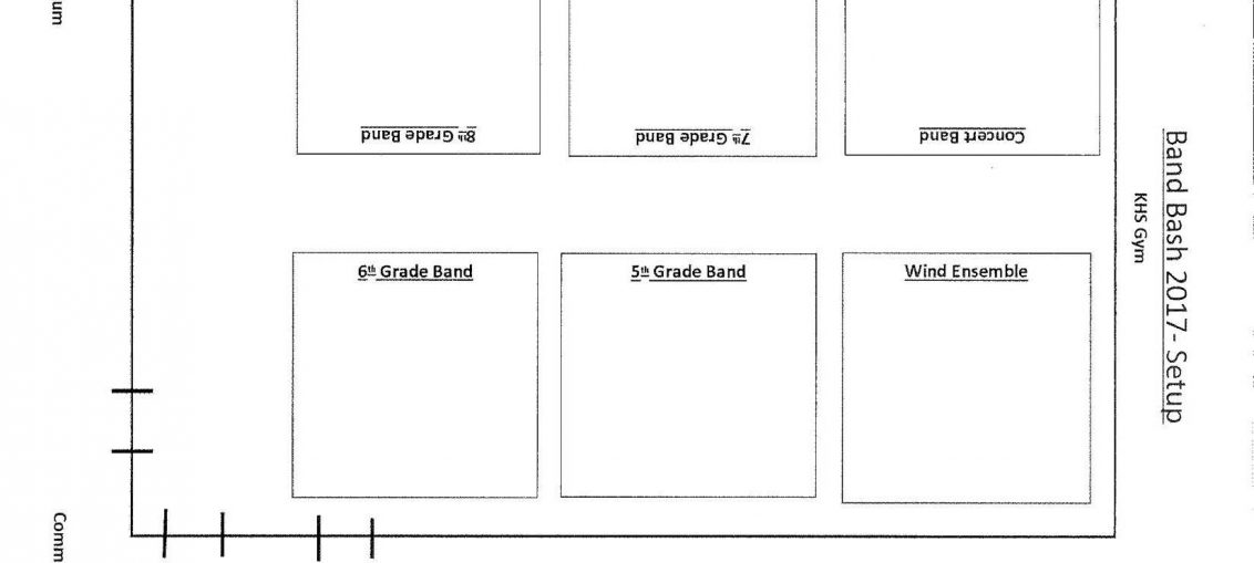 Band Bash 2017 layout