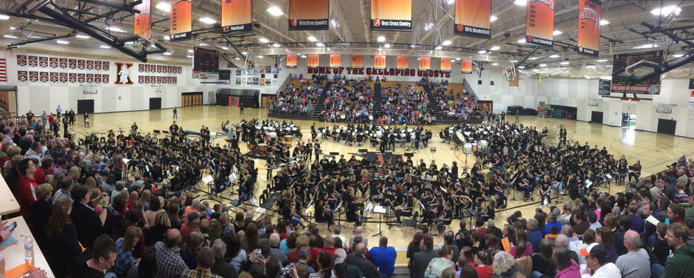 Band Bash 2017. Photo via @kaukaunasd on Twitter