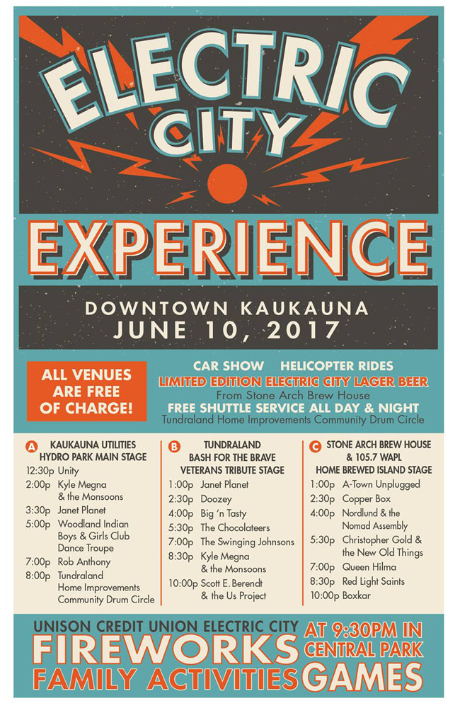 2017 Electric City Experience Kaukauna