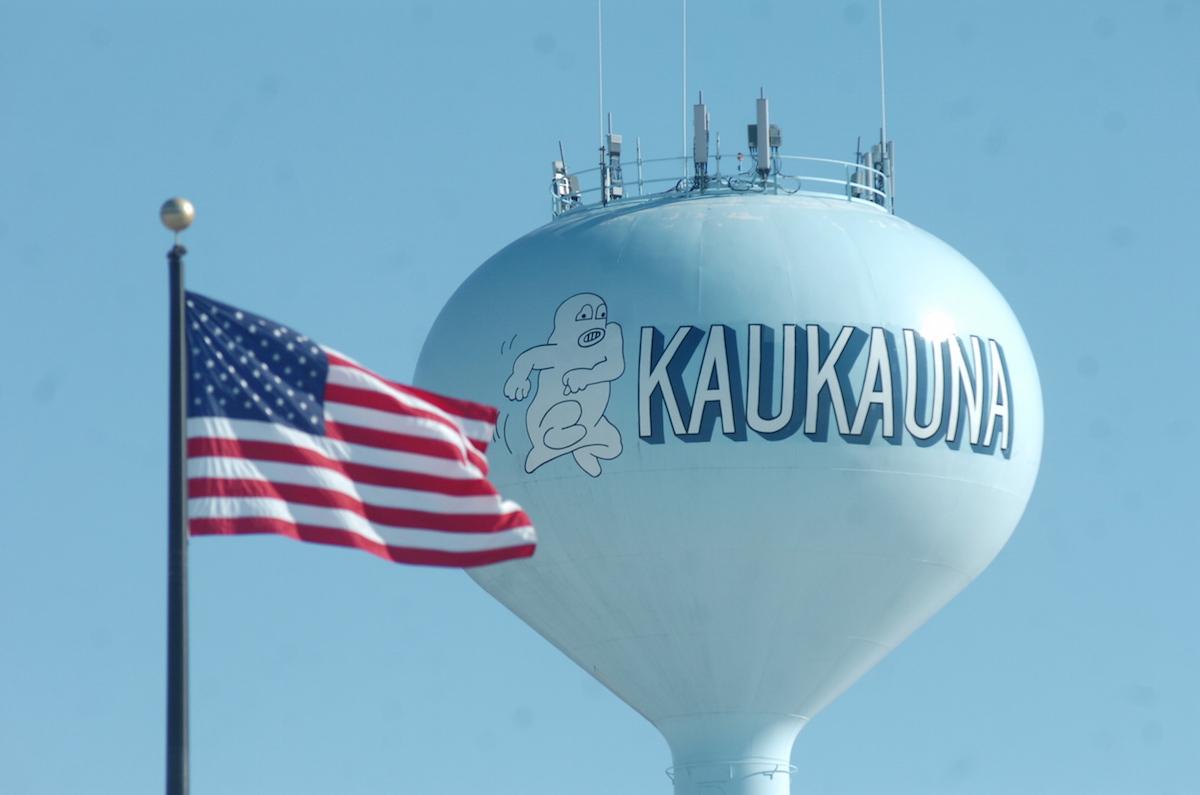 Kaukauna water tower