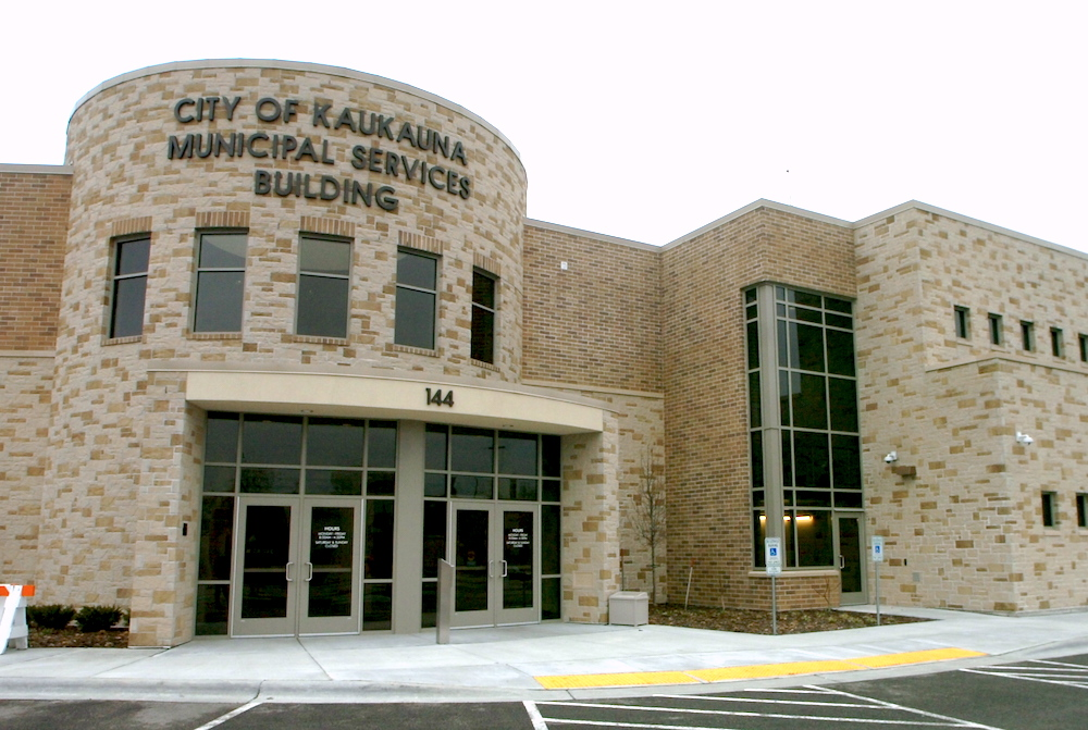Kaukauna Municipal Services Building. KCN photo.