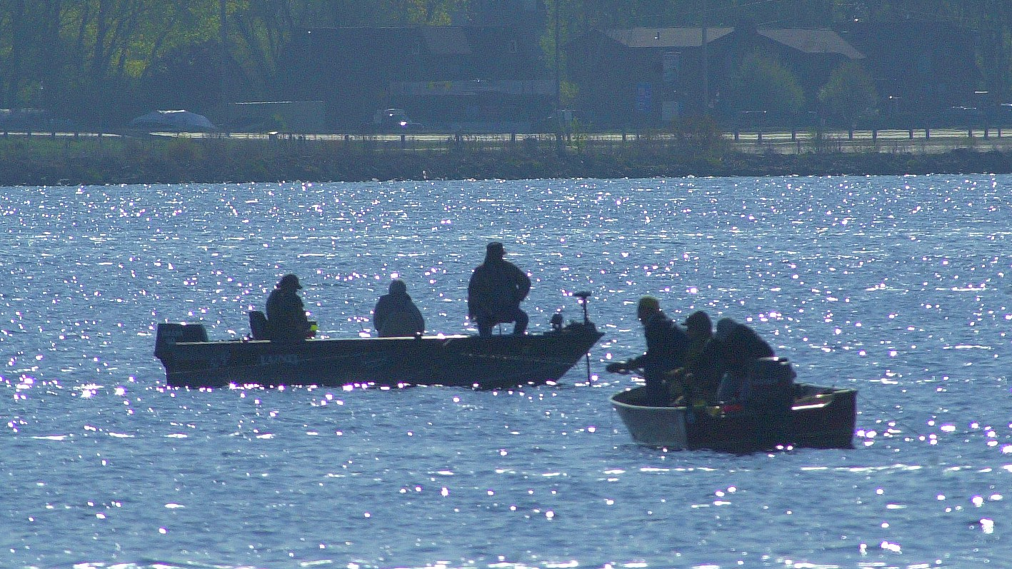 Opening day of the Wisconsin fishing season. File photo by Dan Plutchak